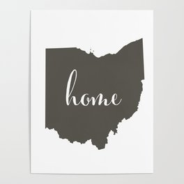 Ohio is Home Poster