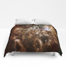 brown white smoke 4/26/2017 Comforters