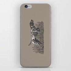 Pointer in Color iPhone & iPod Skin