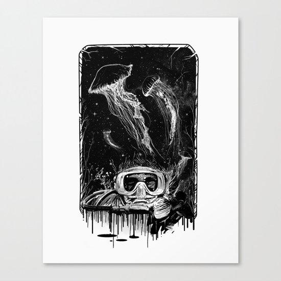 Underwater Vision Canvas Print