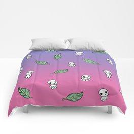 Moonrise Kodama Pattern Comforters