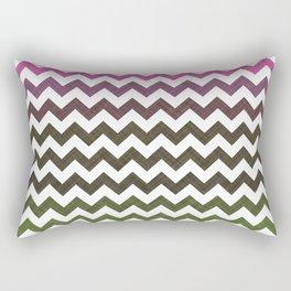 Pink Roses in Anzures 3 Chevron 1T Rectangular Pillow