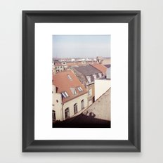 Shadow man - Rasmus Verdier Framed Art Print