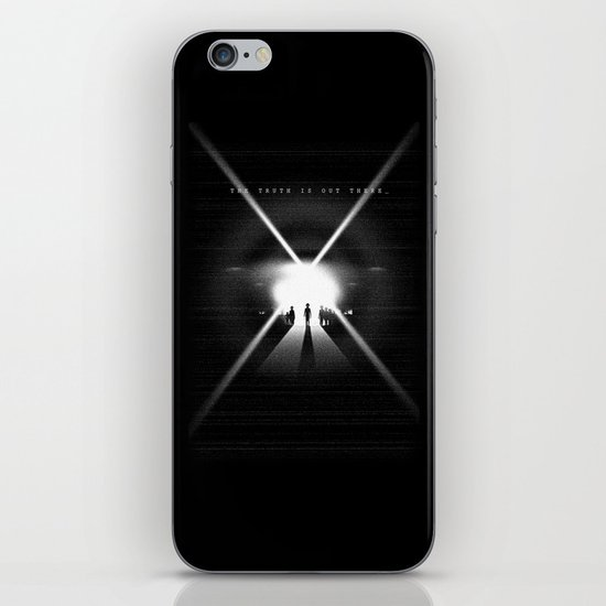 The truth is out there iPhone & iPod Skin