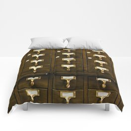 The Bank Drawers (Color) Comforters