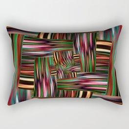 Multicolored abstract no. 11 Rectangular Pillow
