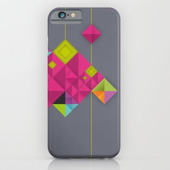 Optical illusion_grey iPhone & iPod Case