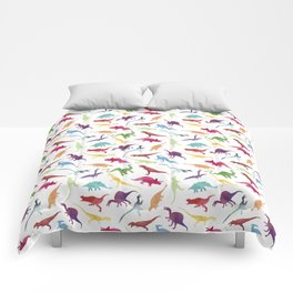 Watercolour Dinosaurs Comforters