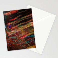 Dancing lights Stationery Cards