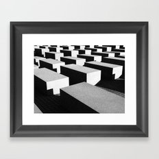 Berlin holocaust Framed Art Print
