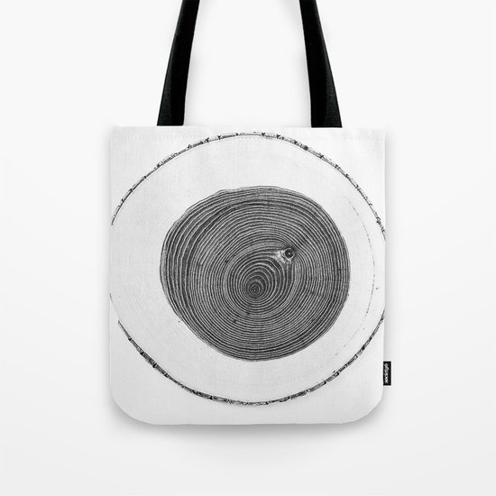 Cut wood -Scandinavian art Tote Bag