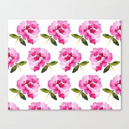 Pink Flower Canvas Print