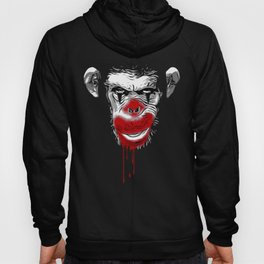 Evil Monkey Clown Hoody