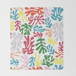 Matisse Pattern 004 Throw Blanket