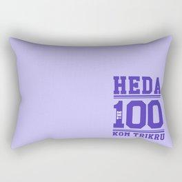 Heda Kom TriKru Rectangular Pillow