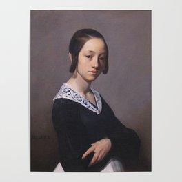 Portrait of Louise-Antoinette Feuardent Jean-François Millet Poster