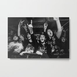 Metal fans, 2015 Metal Print