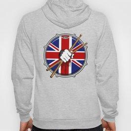 Brit Fist Drummer Hoody