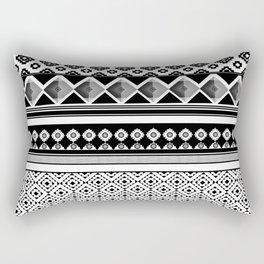 Modern Black 2 Rectangular Pillow