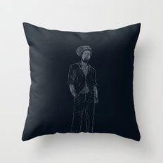 Gregory Isaacs Throw Pillow