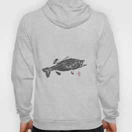 Large mouth bass Hoody