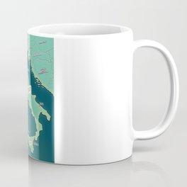Map Of Italy Coffee Mug