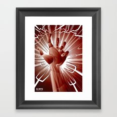 Frankenstein's Monster Framed Art Print