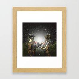 SOULMATES ∀ Framed Art Print