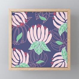 Blush Bloom Peony Lavender Framed Mini Art Print