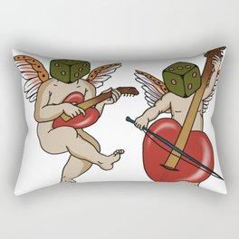 Dice Angels Rectangular Pillow
