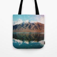 New Zealand Glacier Landscape Tote Bag
