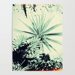 Abstract Urban Garden Poster