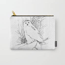 Snow Owl - M Carry-All Pouch
