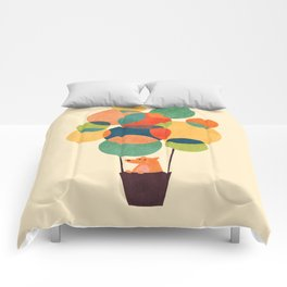 Whimsical Hot Air Balloon Comforters