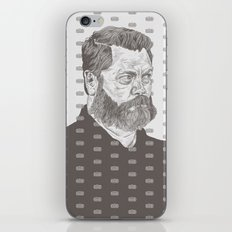Nick Offerman iPhone & iPod Skin