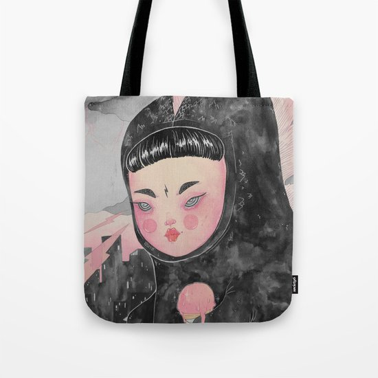 CuteZilla Tote Bag