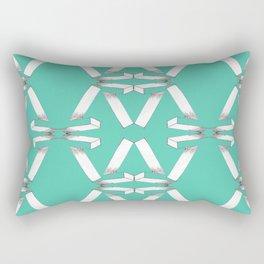 Number 7 - V2 Pencil Rectangular Pillow