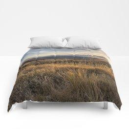 Late Afternoon on Malheur Comforters