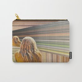 The Treachery of Images; A Portrait of the Viewer in a Holographic Multiverse Carry-All Pouch