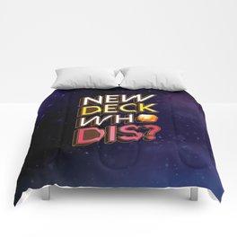 New Deck Who Dis Keyforge Comforters