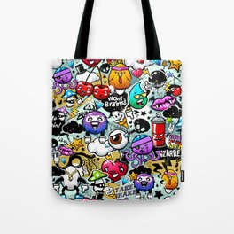 Bizarre Graffiti #1 Tote Bag