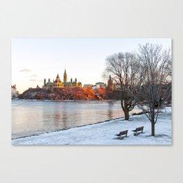 Beautiful Ottawa Canvas Print