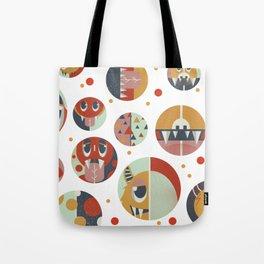 Monster dots Tote Bag
