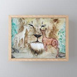 A Wild Thought Framed Mini Art Print