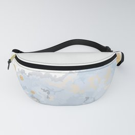 Blue & Gold Art Fanny Pack