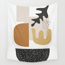 Abstract Shapes  2 Wall Tapestry