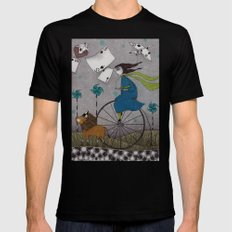 I Follow the Wind Black X-LARGE Mens Fitted Tee