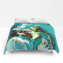 MORNING SEAWEED Comforters