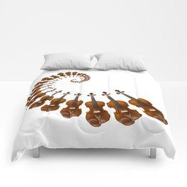 Stradivarius violin spiral music Comforters