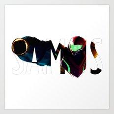 Samus Art Print